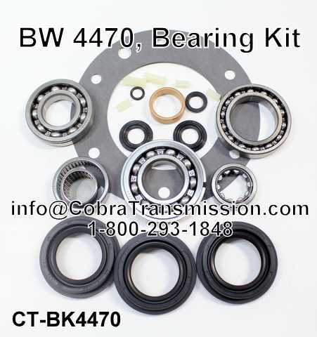 BW4470 Bearing Kit