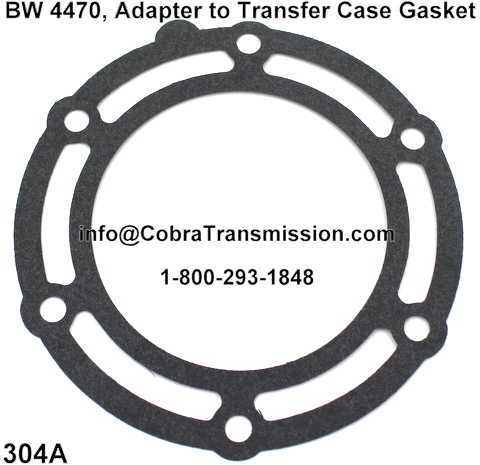 BW 4470, Adapter to Transfer Case Gasket