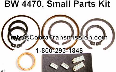 BW 4470, Small Parts Kit
