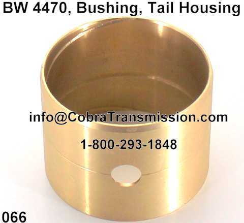 BW 4470, Bushing, Tail Housing