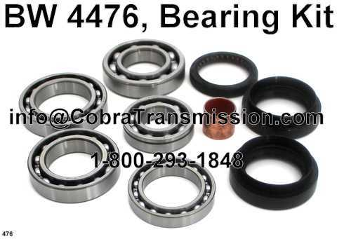 BW 4476, Bearing and Seal Kit