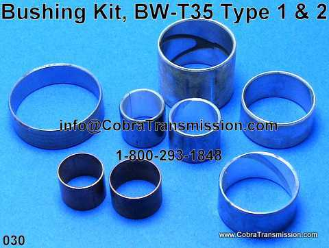 Bushing Kit, BW-T35 Type 1 & 2