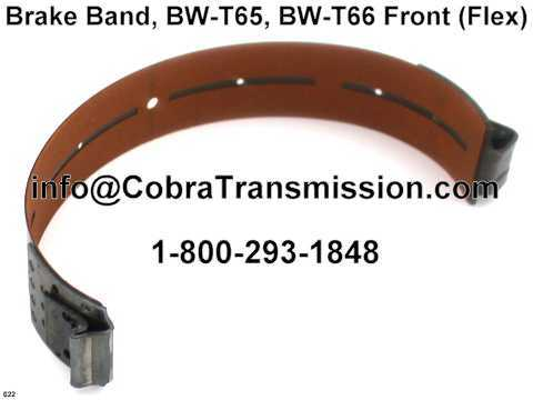 Brake Band, BW-T65, BW-T66 Front (Flex)