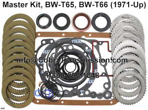 Master Kit, BW-T65, BW-T66 (1971-Up)