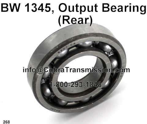 BW 1345, Output Bearing (Rear)