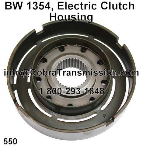 BW 1354, Electric Clutch Housing