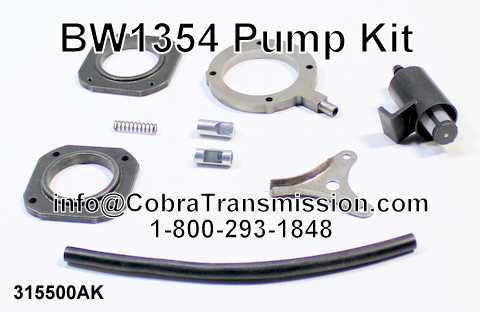 BW1354 Pump Kit