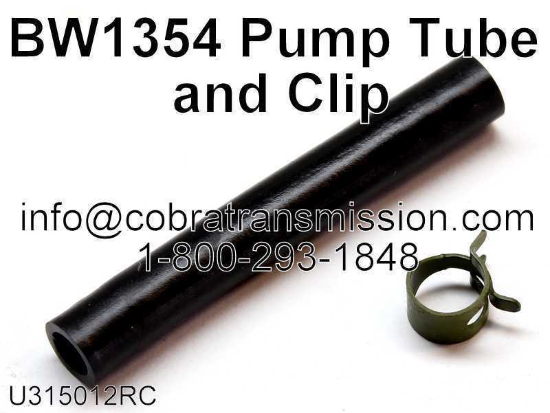 BW1354, BW4411 Pump Tube and Clip