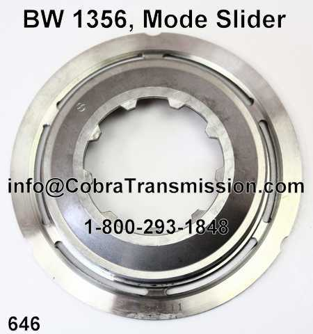 BW 1356, Mode Slider Flange