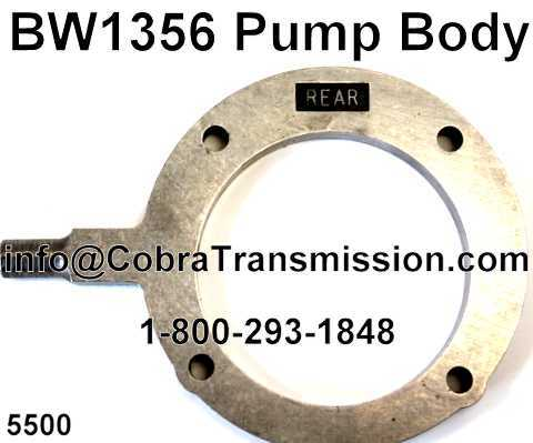 BW1356 Pump Body
