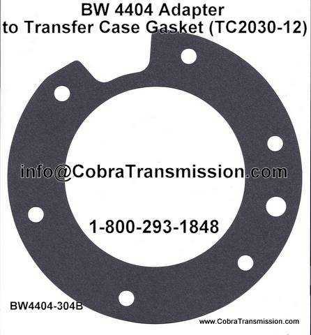 BW 4404, Adapter to Transfer Case Gasket