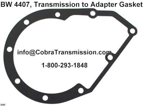 BW 4407, Transmission to Adapter Gasket