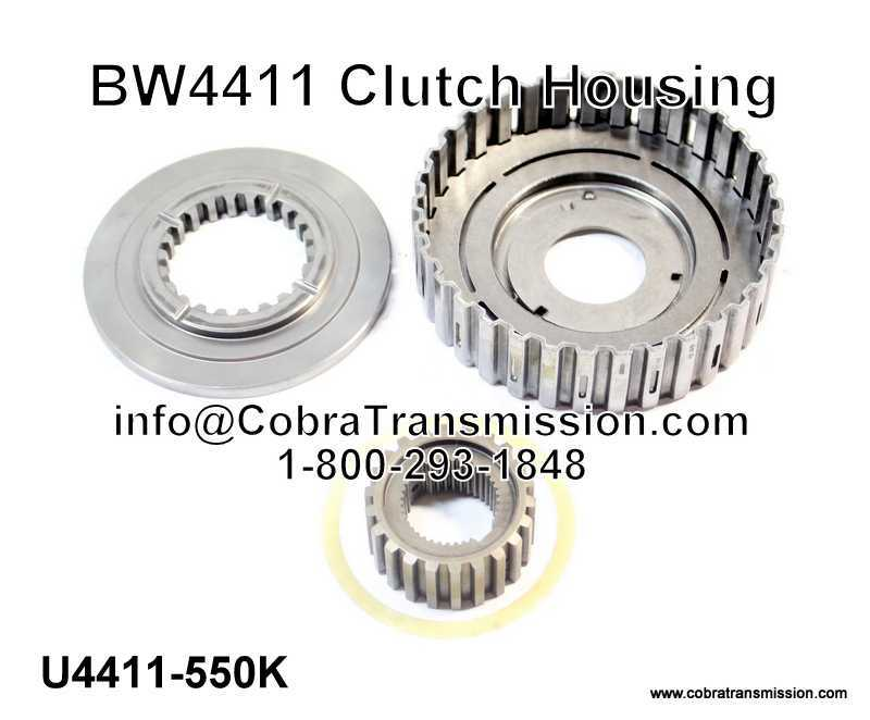 BW4411 Clutch Housing (Good - Used)