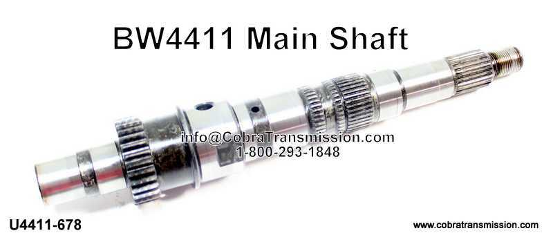 BW4411 Main Shaft (Good - Used)