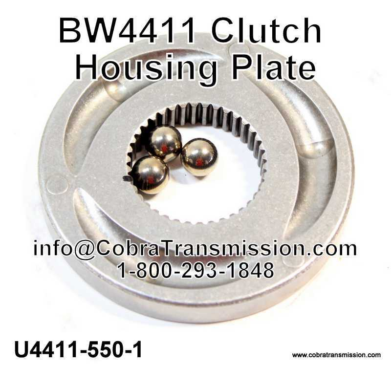 BW4411, BW4416 Clutch Housing Plate