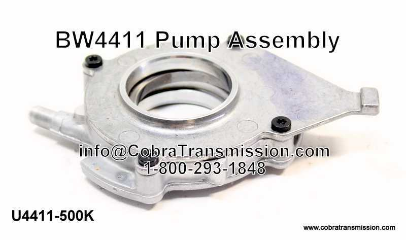 BW4411 Pump Assembly