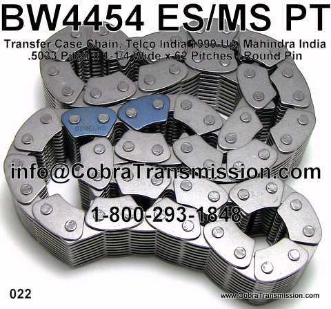BW4454 ES/MS PT, Chain