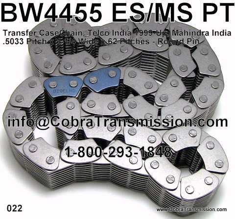 BW4455 ES/MS PT, Chain