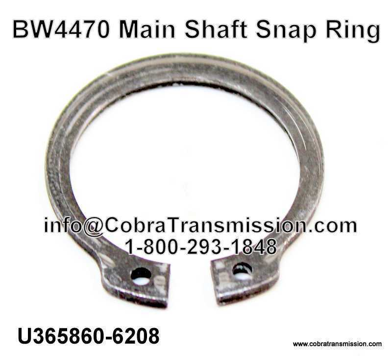 BW4470 Main Shaft Snap Ring