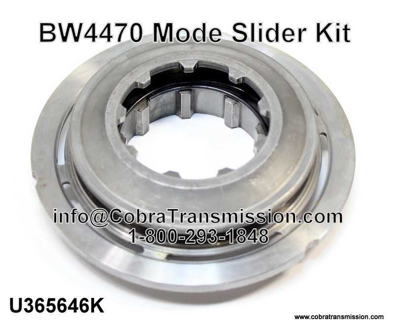 BW4470 Mode Slider Kit