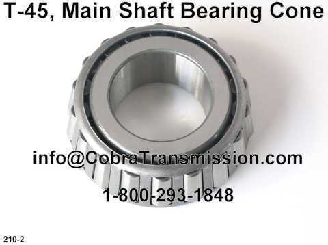 T-45, Main Shaft Bearing Cone