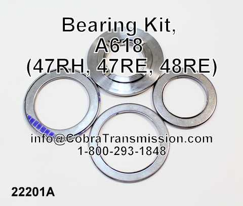 Bearing Kit, A618 (47RH, 47RE, 48RE)