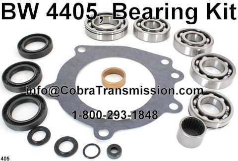 BW 4405, Bearing Kit
