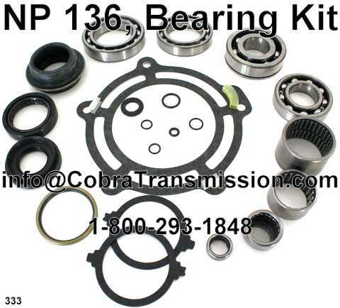 NP 136, Bearing Kit