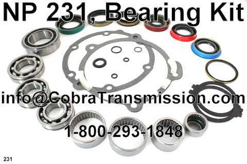 NP 231, Bearing Kit