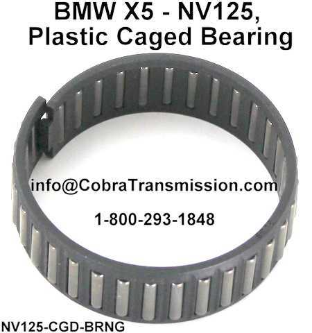 BMW X5 - NV125, Plastic Caged Bearing