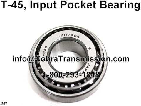 T-45, Input Pocket Bearing