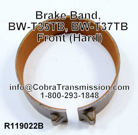 Brake Band, BW-T65, BW-T66 Front (Hard)