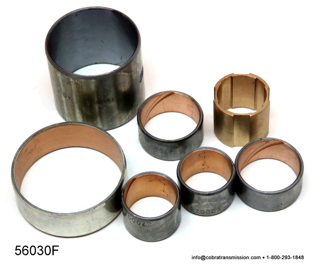 Bushing Kit, 4R44E, 5R44E, 4R55E, 5R55E