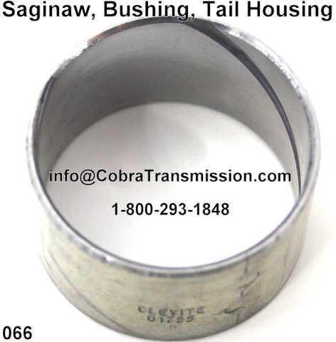 Saginaw, Bushing, Tail Housing