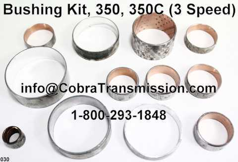 Bushing Kit, 350, 350C (3 Speed)
