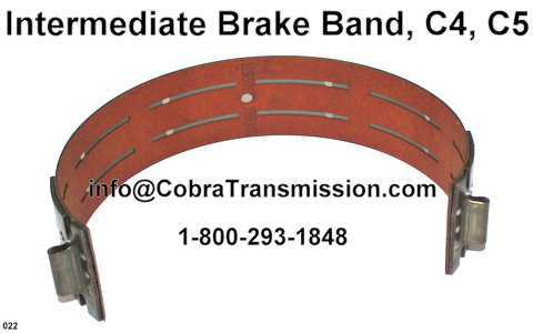 Intermediate Brake Band, C4, C5