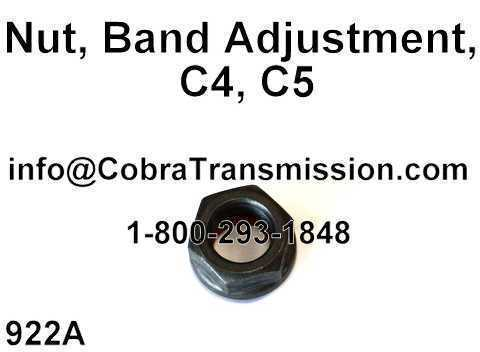 C4, C5, 4R44E, 5R55E Nut, Band Adjustment