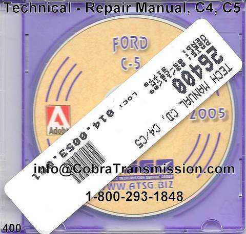 Technical - Repair Manual, C4, C5