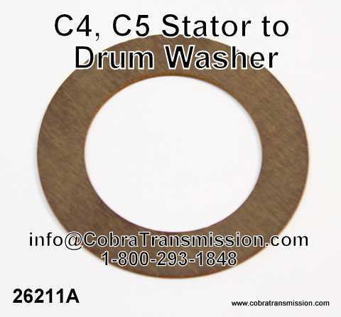 C4, C5 Stator to Drum Washer