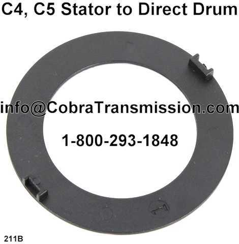 C4, C5 Stator to Direct Drum