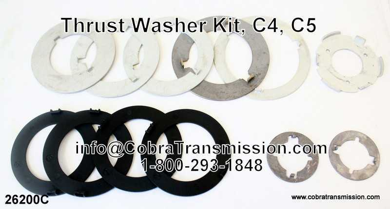 Thrust Washer Kit, C4, C5