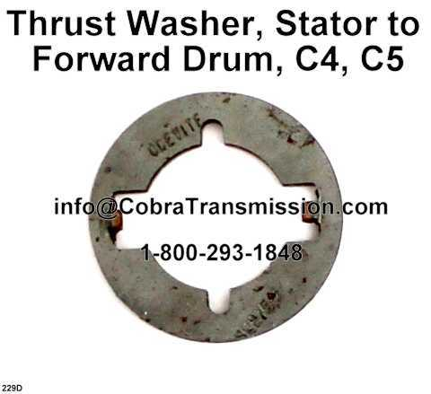 Thrust Washer, Stator to Forward Drum, C4, C5