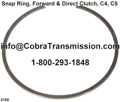Snap Ring, Forward & Direct Clutch, C4, C5