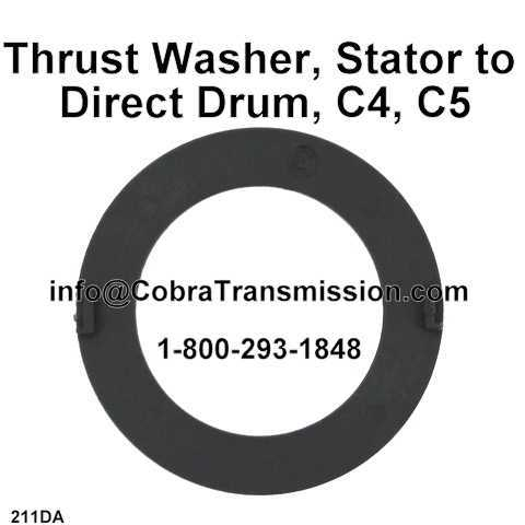 Thrust Washer, Stator to Direct Drum, C4, C5
