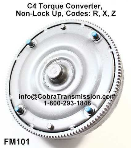 C4 Torque Converter Non-Lock Up