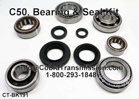 C50 (5 Speed) (Fwd), Bearing and Seal Kit