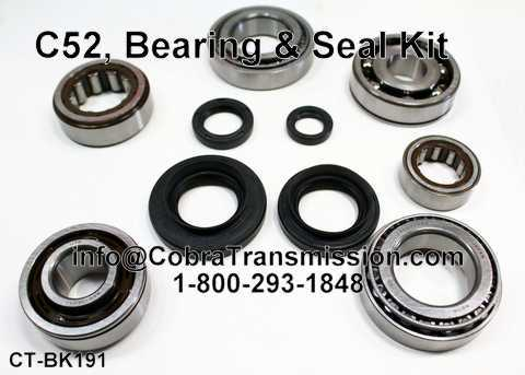 C52 (5 Speed) (Fwd), Bearing and Seal Kit
