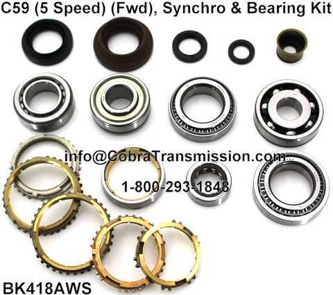 C59 Synchro, Bearing and Seal Kit