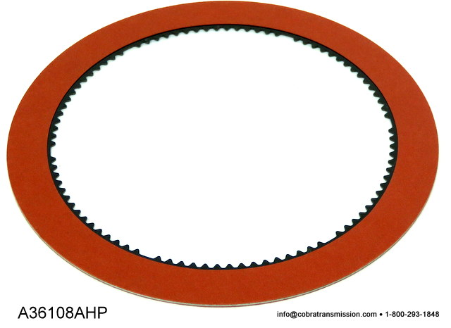 C6 Forward Friction Plate