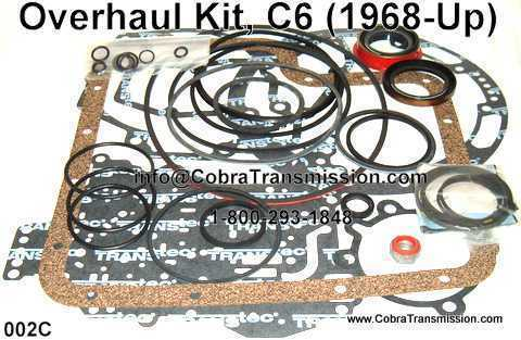 Overhaul Kit, C6 (1968-Up)